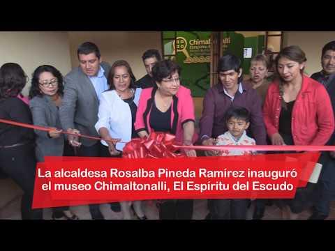 Inauguramos museo Chimaltonalli, El Espíritu del Escudo