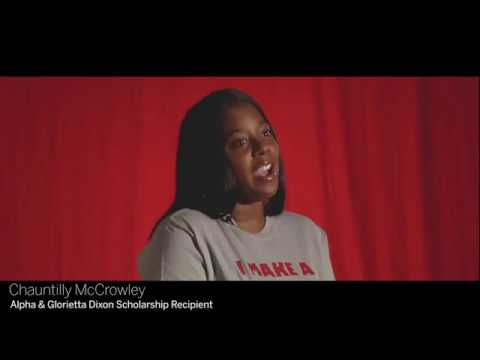 ~IUN~Scholarship Recipient Testimonial