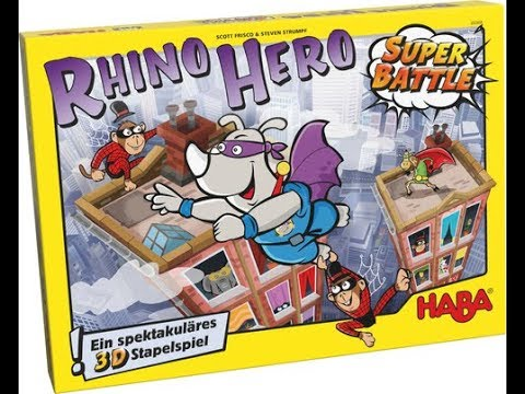 The Purge: # 1668 Rhino Hero: Super Battle: A dexterity game of super hero glory for children of all ages