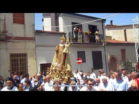 Preview video Video festa patronale processione Madonna del Carmine 2018 Laurenzana 16 luglio 2018