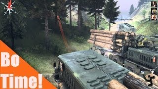 "Spintires - ""The Volcano"" Part 1"