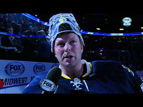 Marty Brodeur 1st Star & Interview with Darren Pang