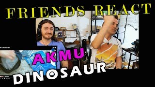 Friends React To KPOP   AKMU   DINOSAUR  MV  Reaction To KPOP May 2019