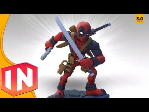 Disney Infinity: Deadpool Figure (Custom Spotlight)