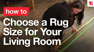 How to Choose a Rug Size for Your Living Room - Overstock.com