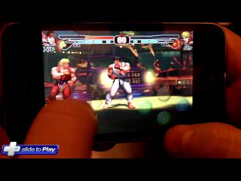 Street Fighter IV iPhone In Action