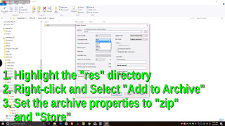 How to Create a wotmod file Using 7-zip