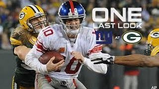 Giants VS Packers playoff Hype