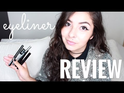 6 DRUGSTORE EYELINERS REVIEW