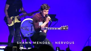 Shawn Mendes   Nervous (live)   Ziggo Dome   Amsterdam, The Netherlands (08032019)