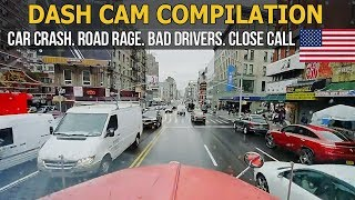 Dash Cam Compilation (USA) Car Crashes in America 2017 - 2018 # 22