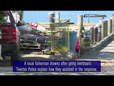VIDEO NOW: A local fisherman drowns after going overboard