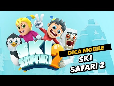 Dica de download mobile do dia: Ski Safari 2