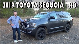 2019 Toyota Sequoia TRD Sport Review on Everyman Driver