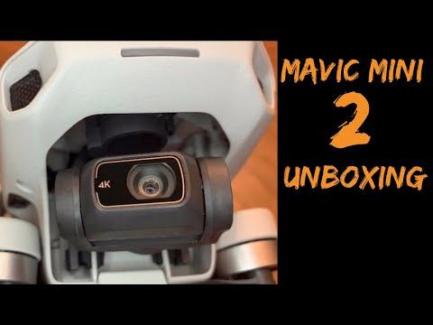 "Unboxing DJI Mavic Mini 2 deutsch. Die ""DJI Mini 2"" kommt 2020 mit neuem Namen. Unboxing vor Release"