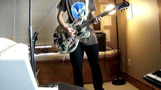 Ken Tsuruta: Angels & Airwaves - Love Like Rockets Guitar Cover (2)