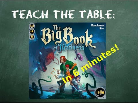 How to play The Big Book of Madness - Teach The Table