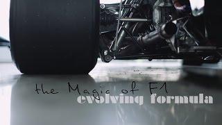 evolving formula – the magic of F1