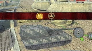 World of Tanks Blitz - Jagdpanzer E100 aced