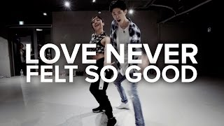 Love Never Felt So Good  Michael Jackson / Bongyoung Park & May J Lee Choreography