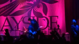 "Bayside - ""Mona Lisa,"" ""Montauk"" and ""You're No Match"" (Live in San Diego 3-11-15)"