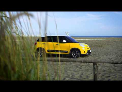 Fiat  500 L Trekking Хетчбек класса B - рекламное видео 1