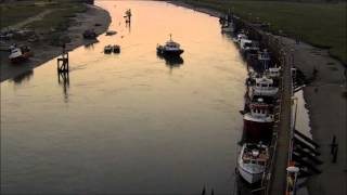 """""""Carried Away"""" Filmed at Rye Harbour starring the 'Harbour Master' and his boat"""