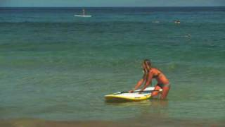 Stand Up Paddle Board Instruction:  Lesson 07 - Coming In/Getting Off