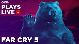 Far Cry 5: The Opening Hours Gameplay Livestream - IGN Plays Live | Kholo.pk