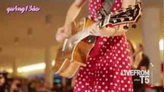 [Vietsub] Back To December - Taylor Swift - Live From T5, Jetblue [qu4ng13ao]