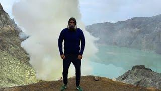 Вулкан Иджен и Кислотное озеро на острове Ява!