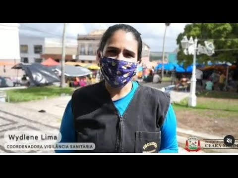 fiscalização em estabelecimentos comerciais e conscientizando na feira