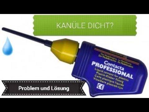 Revell Contacta Professional // Modellbau Kleber // verstopfen der Kanüle verhindern