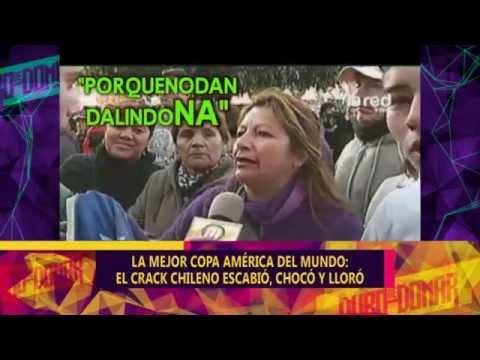 LA MEJOR COPA AMERICA DEL MUNDO: EL CRACK CHILENO ESCABIO CHOCO Y LLORO – 17-06-15