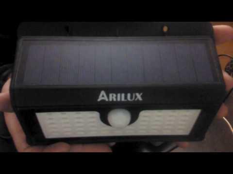ARILUX® AL-SL07 Wireless Solar Powered 45 LED