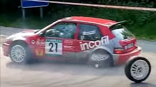 Rally FAILS Compilation - Crazy and WTF scenes   HD