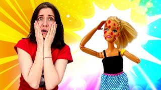 Куклы Барби и Леди Баг на кастинге. Почему Барби покрылась прыщами?! Мультики для девочек