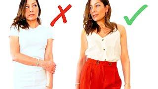 So trägt man Weiß, OHNE blass zu wirken | Richtiger Weißton, Farbkombis, Makeup | natashagibson