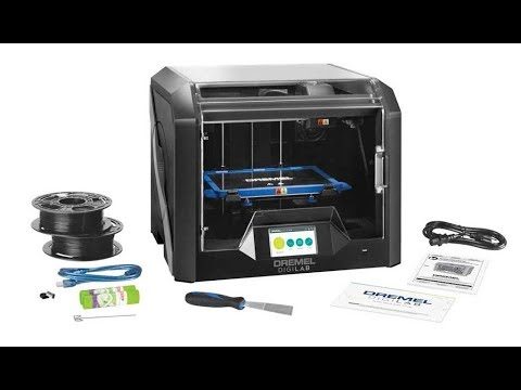 Review of the Dremel Idea Builder 3D45 3D Printer and Dremel Print Cloud Solution (3D Universe)
