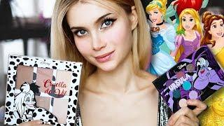 Макияж DISNEY косметикой 😬 Косметика Диснеевских принцесс| ЛИССА