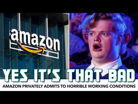 LEAK: Amazon Privately Admits To HORRIBLE Working Conditions