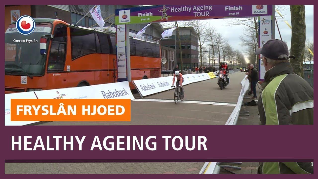 Omrop Fryslan: Van der Breggen wint eerste etappe van Healthy Ageing Tour