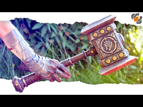 Foamsmith builds a WoW Doomhammer