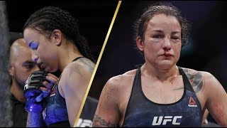 Ракель Пеннингтон хотела сдаться, но ее уговорили выйти на 5 раунд боя на UFC 224