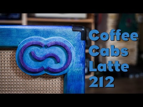 COFFEE CUSTOM CABS Latte Kytarový reprobox