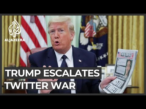 Trump escalates Twitter, social media war after fact-check move