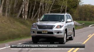2011 Lexus LX 570 Used Car Report