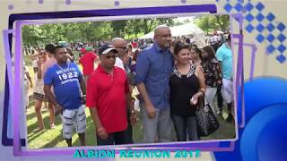 ALBION REUNION 2017-EX PRESIDENT B. JAGDEO TAKING PHOTOS.