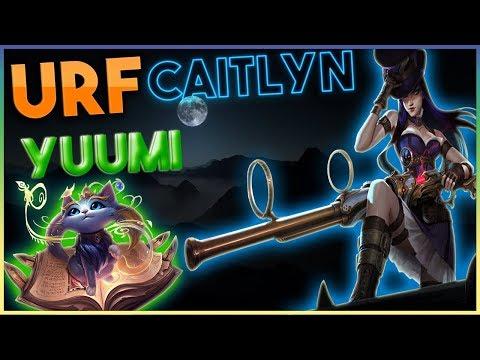 URF Caitlyn + Yuumi IS OP | Dagger Stuck | League of Legends