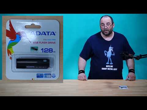 A-Data 128GB Superior S102 Pro (AS102P-128G-RGY) ~ unboxing & test ~ Česky ᴴᴰ